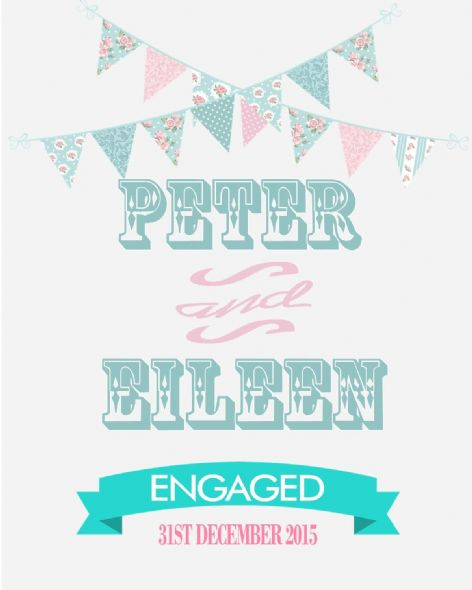 Engagement Print Design 2